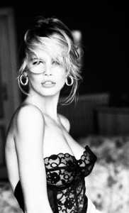 Claudia Schiffer 1990 from Guess by Paul Marciano