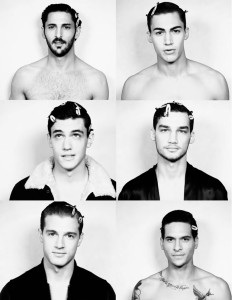 dolce and gabbana, male models