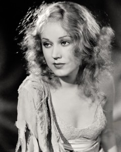 fay wray, black and white portrait