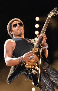NASHVILLE, TN - JUNE 08: Musician Lenny Kravitz performs during the 2013 CMA Music Festival on June 8, 2013 at LP Field in Nashville, Tennessee. (Photo by Rick Diamond/Getty Images)