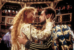 Shakespeare in Love, Joseph Fiennes and gwyneth paltrow dancing and holding each other
