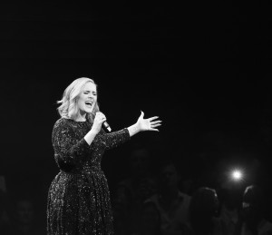adele singing live for 25 world tour
