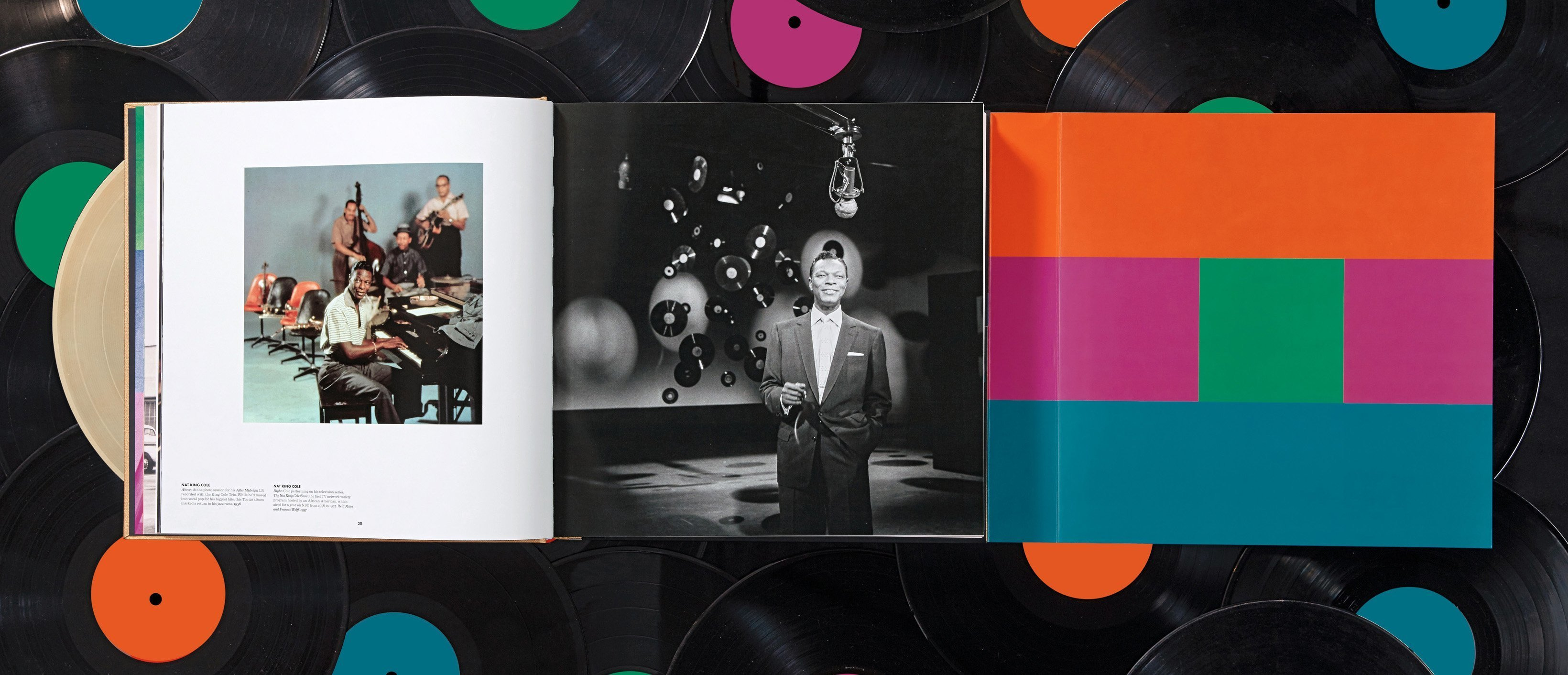 The Taschen book, 75 Years of Capitol Records.