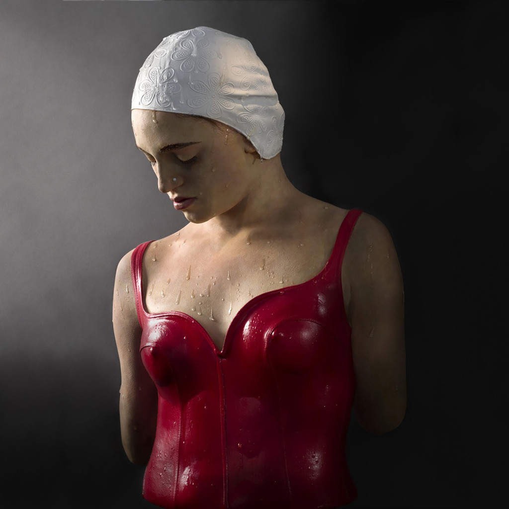 Moran by Carole Feuerman (2008). Oil and resin, 26 x 18 x 8 i inches (edition of 6). Courtesy Jim Kempner Fine Art.
