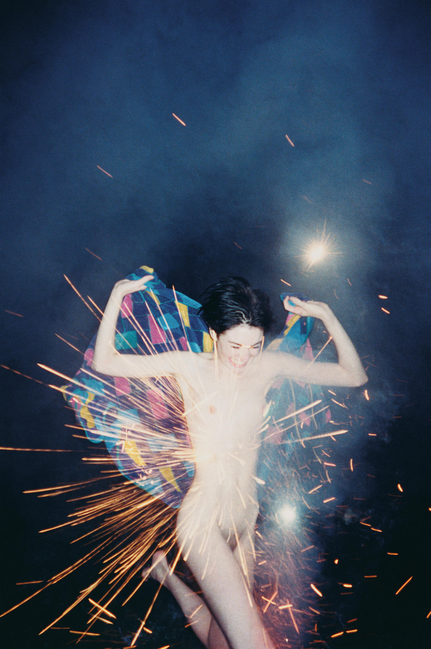 Fireworks, 2002. C-print, 40 x 30 inches. © Ryan McGinley.
