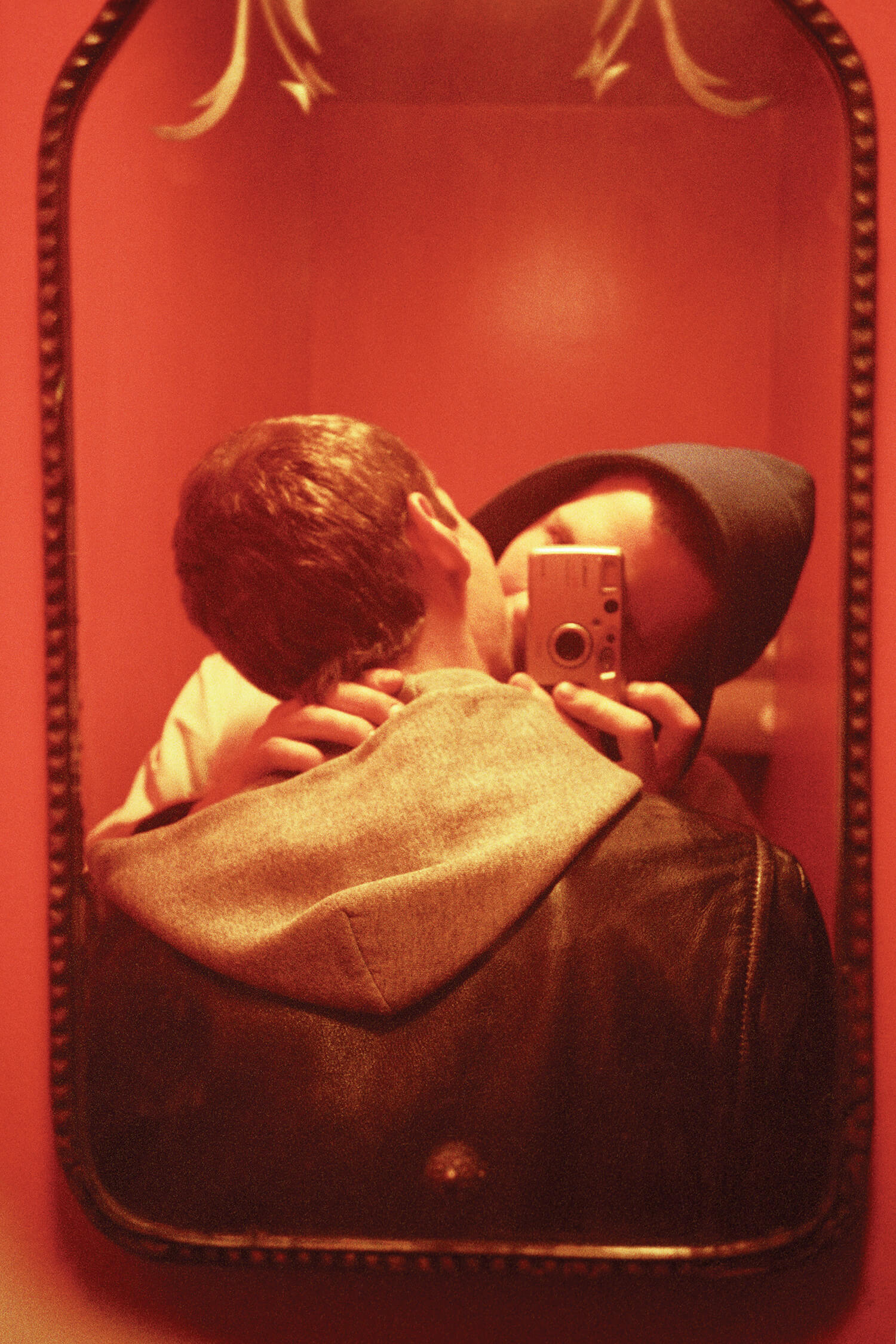 Red Mirror, 1999. C-print, 45 x 30 inches. © Ryan McGinley.