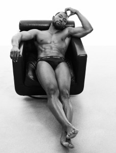 Trevante Rhodes. Calvin Klein Spring 2017. Photography by Willy Vanderperre.