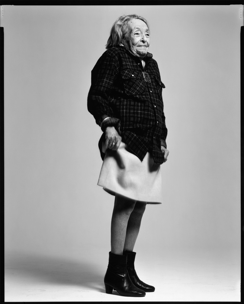 Marguerite Duras, writer, Paris, May 21, 1993. Photograph by Richard Avedon. © The Richard Avedon Foundation.