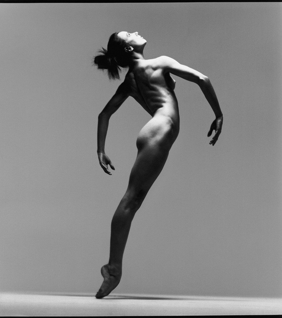 • Sylvie Guillem, dancer, New York, March 11, 1991. Photograph by Richard Avedon. © The Richard Avedon Foundation.