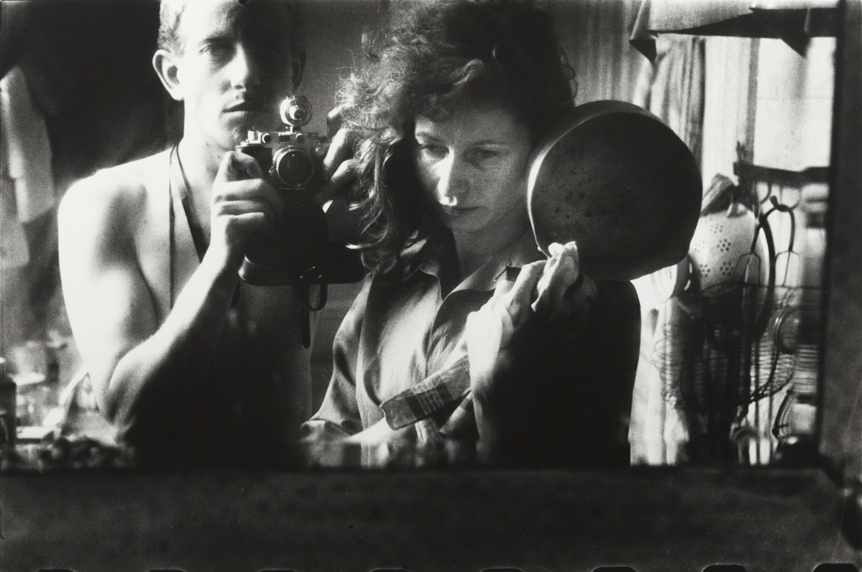Selfportrait with Ata Kandó, Paris (1953) by Ed van der Elsken. Nederlands Fotomuseum / © Ed van der Elsken / Collection Ed van der Elsken estate.