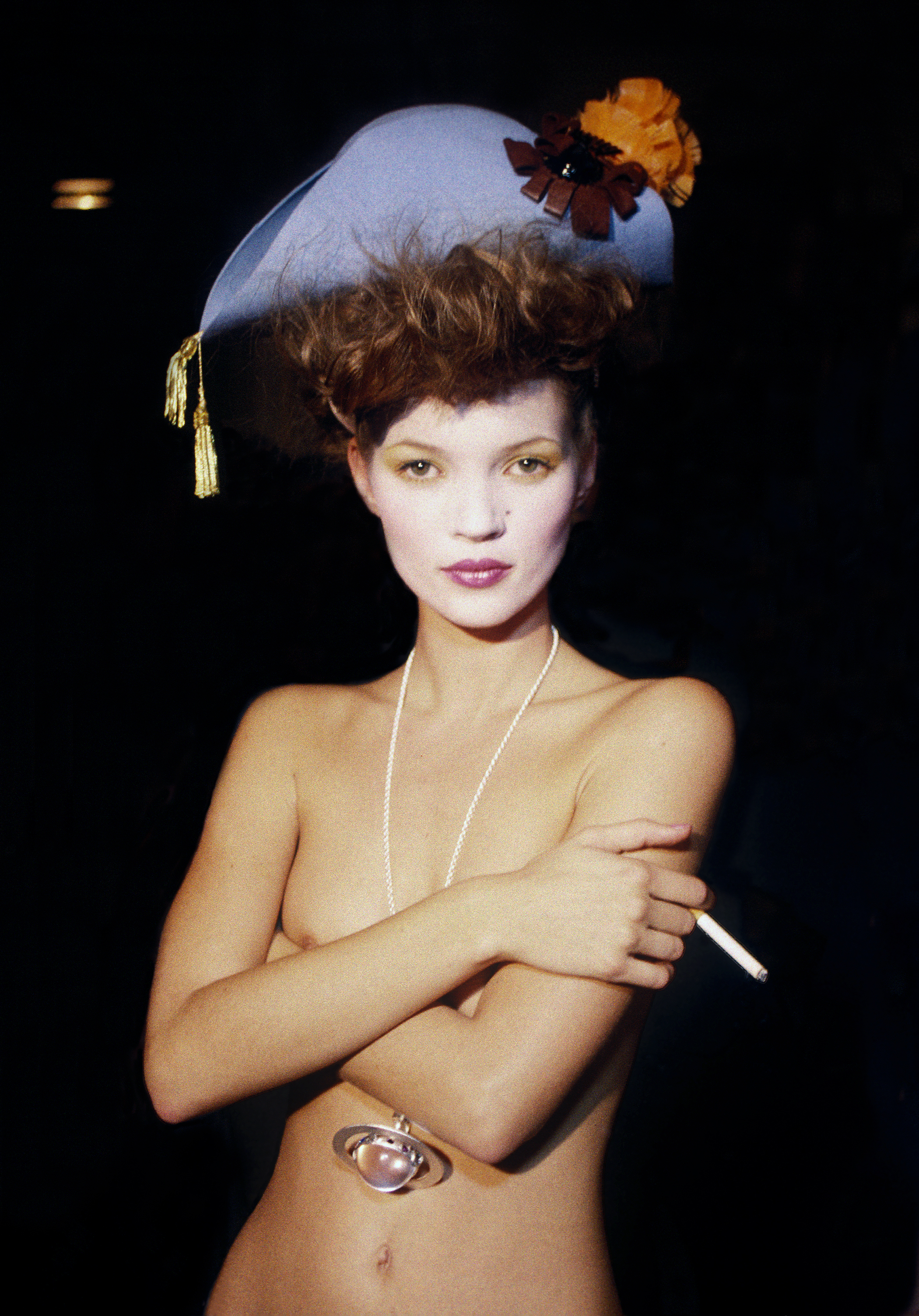 Kate Moss in HARRY BENSON: SHOOT FIRST, a Magnolia Pictures release. Photo courtesy of Magnolia Pictures. Photo Credit: © Harry Benson.