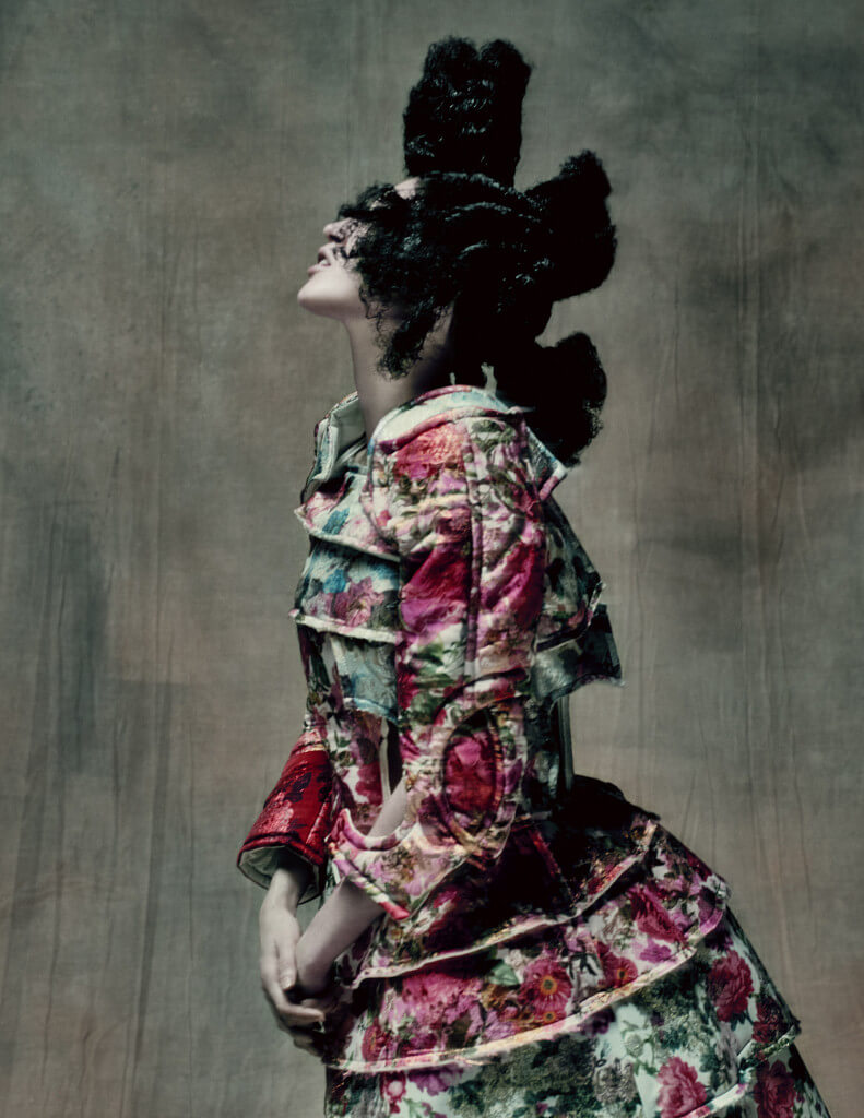 18th Century Punk, autumn/winter 2016–17; Courtesy of Comme des Garçons. Photograph by © Paolo Roversi; Courtesy of The Metropolitan Museum of Art.